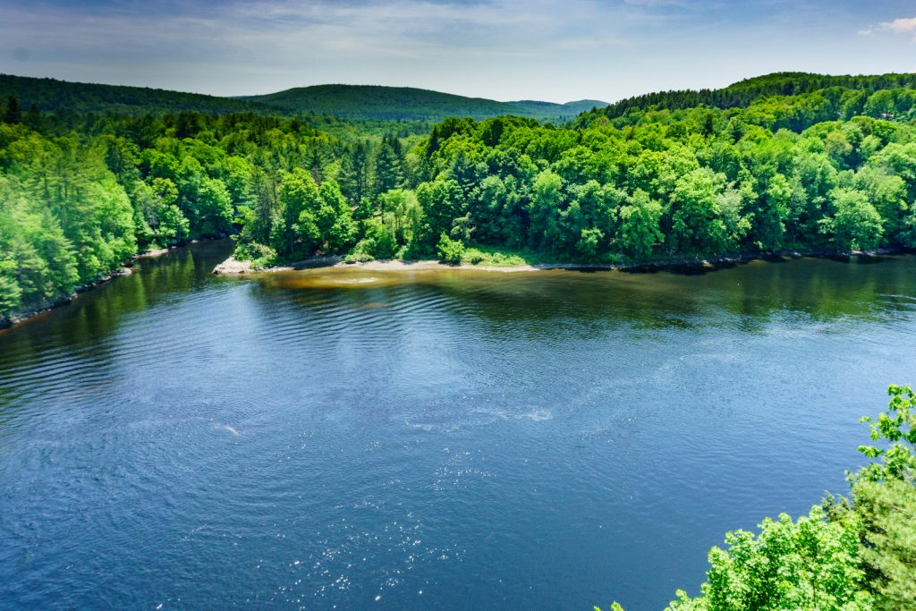 View from French King Bridge, Gill, MA